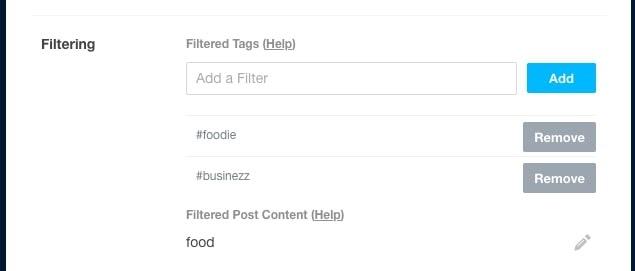 Add tags