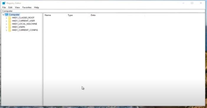 regedit dashboard