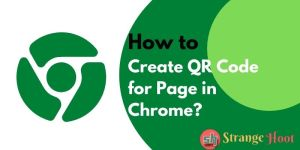 Create QR Code for Page in Chrome