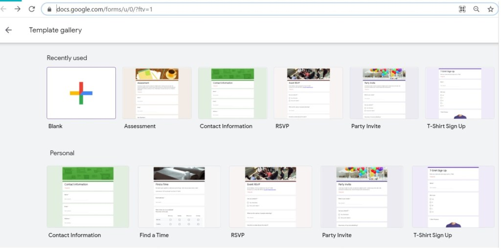 open docs.google.com in browser