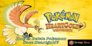 How to Delete Pokemon Save Heartgold