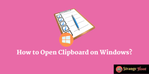 How to Open Clipboard on Windows?