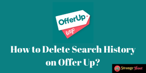 How to Delete Search History on Offer Up