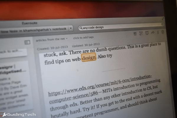 taking notes in Evernote vs notability