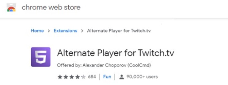 download chrome player extension