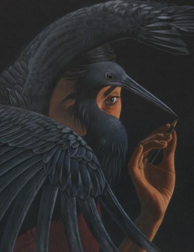 "© 2018 Julia Griffin, ""Black Heron"""