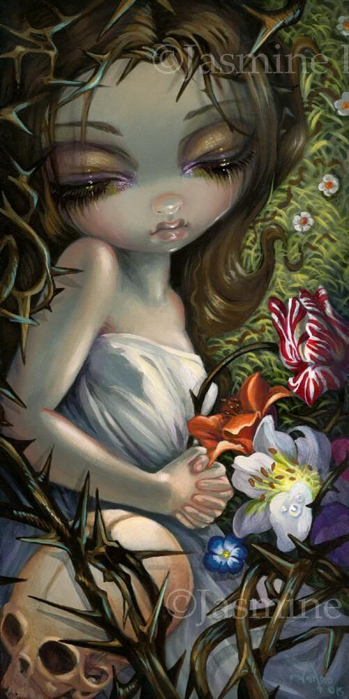 Sleeping In Thorns Sleeping Beauty Jasmine Becket Griffith