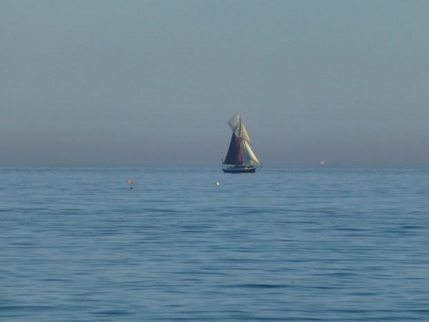 20x Optical Zoom of Yacht