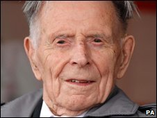 Harry Patch fought at the Battle of Passchendaele in World War I