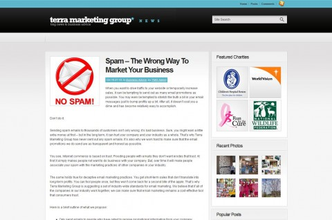 Spam The Wrong Way To Market Your Business