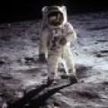 Neil A. Armstrong - Astronaut Edwin Eugene ´Buzz´ Aldrin, Jr. on Moon (1969)