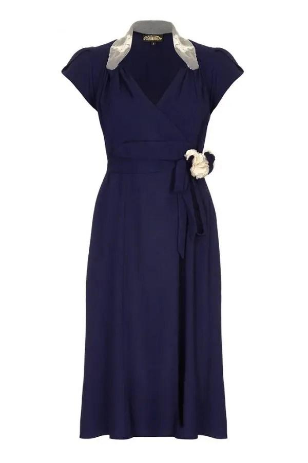 Nancy Mac Eliza mekko, French Navy sininen Strange Magic