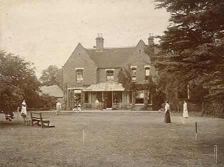 Το Πρεσβυτέριο του Μπόρλεϊ, το 1892