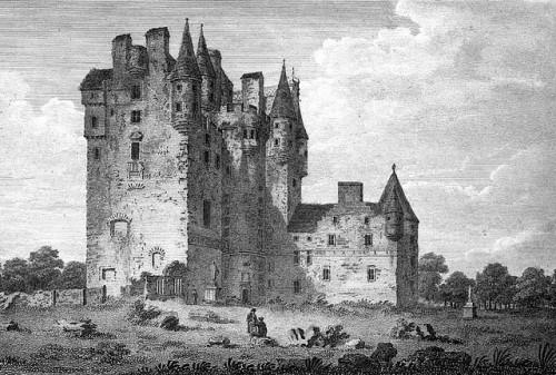 Το Κάστρο του Γκλάμις (γκραβούρα 18ου αιώνα)