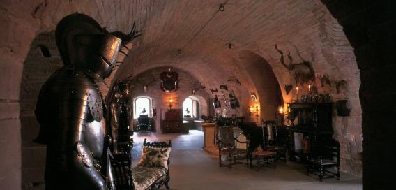 Εσωτερικό του Κάστρου Γκλάμις
