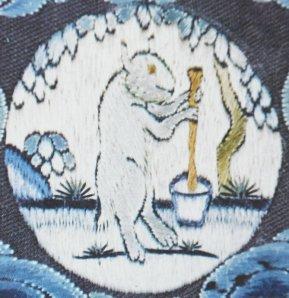 """Ο """"γέρικος λαγός"""", καθώς ετοιμάζει το ελιξήριο της Αθανασίας, στο Φεγγάρι"""