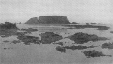 Ο βράχος στον οποίο αναρριχήθηκε η ομάδα του Μακράκεν και ανακάλυψε τα σπουδαία ευρήματα