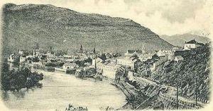 Τριμπίνιε, αρχές 20ου αιώνα