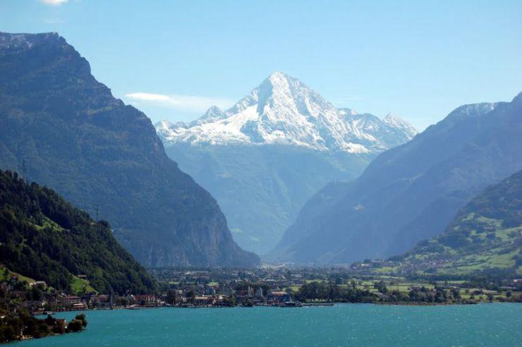 Η λίμνη Ούρι, Ελβετία
