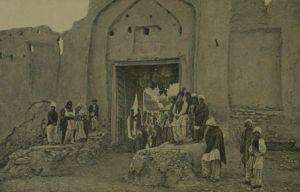 Τα εξωτερικά τείχη της πόλης του Καλάτ