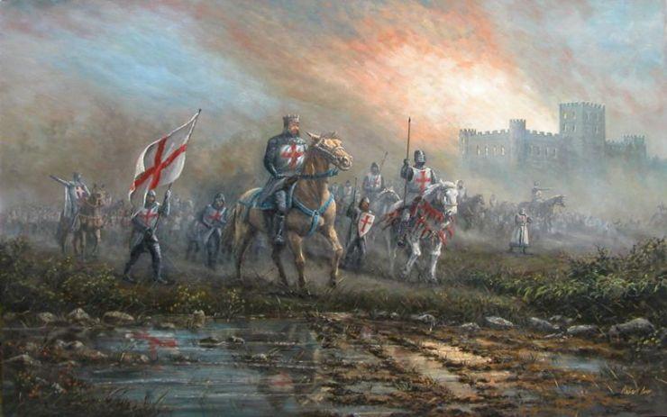 Ναΐτες Ιππότες, πίνακας του Robert Ixer