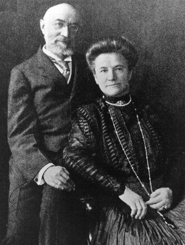 Ο Isidor Straus και η σύζυγός του, Ida