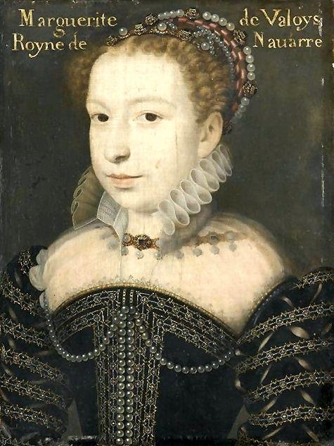 Margaret of Valois (14/05/1553 - 27/03/1615)