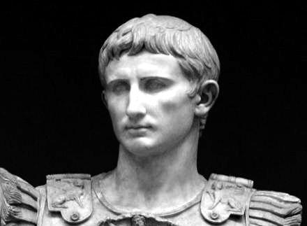 Οκταβιανός Αύγουστος (63 π.Χ. - 14 μ.Χ.)
