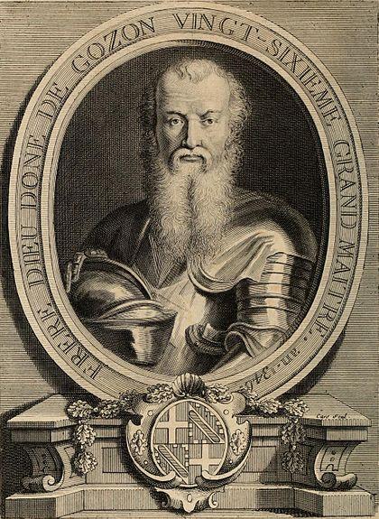 Dieudonne de Gozon, άγνωστη ημερομηνία γέννησης, πέθανε το 1353