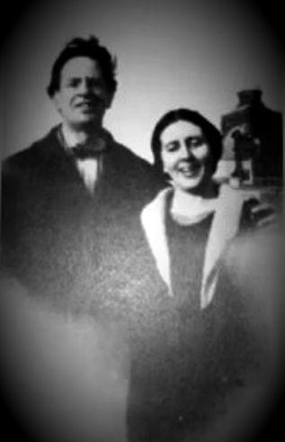 Η Maud με τον σύζυγό της, John Foulds