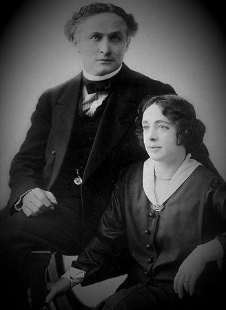 Ο Harry Houdini με τη σύζυγό του, Bess