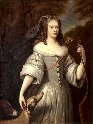 Louise de La Valliere (06/08/1644 - 07/06/1710)