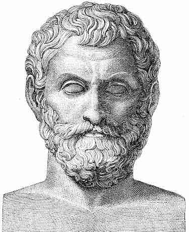 Θαλής ο Μιλήσιος (640 ή 624 π.Χ. - 546 π.Χ.)