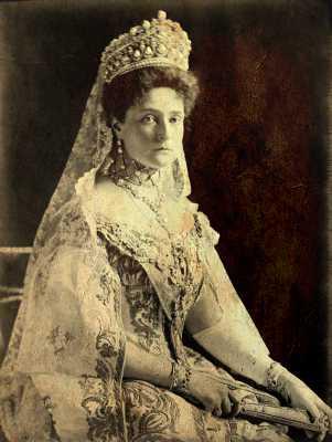 Αλεξάνδρα Φιόντροβνα (06/06/1872 - 17/07/1918)