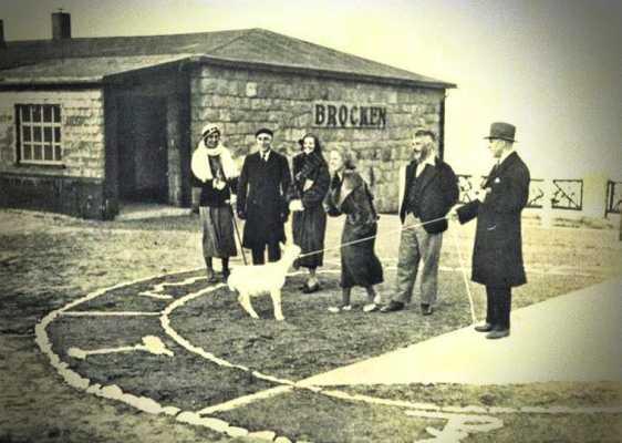 Προετοιμασίες για τη διεξαγωγή του Πειράματος του Brocken, 18 Ιουνίου 1932