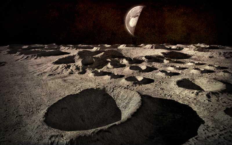 Κινούμενες σκιές και φωτεινές αναλαμπές στην επιφάνεια της Σελήνης, το 1931…