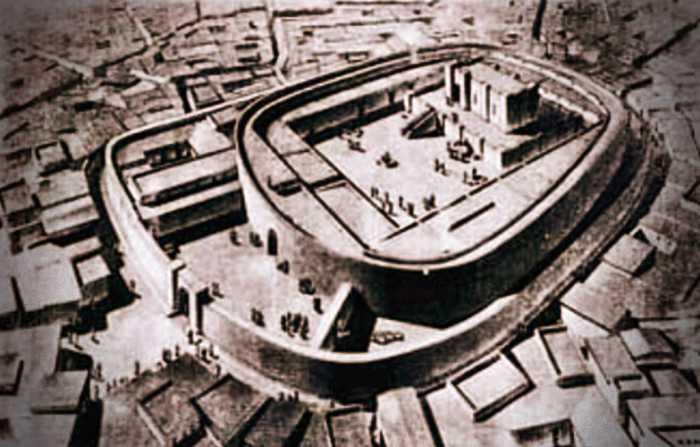 Αναπαράσταση της αρχαίας πόλης Khafaje