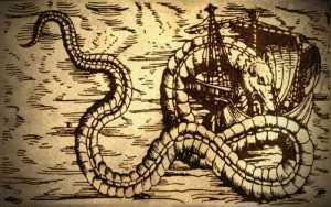 Τεράστιος θαλάσσιος όφις στο Ακρωτήριο της Καλής Ελπίδας, το 1933...