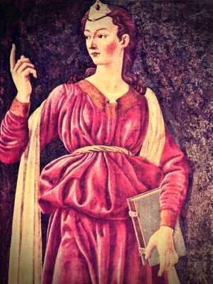Κυμαία Σίβυλλα, πίνακας του Andrea del Castagno (1419 - 1457)