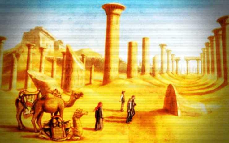Ουμπάρ - Η μυστηριώδης Ατλαντίδα της Ερήμου...