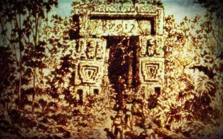 Τα ίχνη του πρώτου πολιτισμού της Γης στην Αμερική και η επιγραφή με το ελληνική αλφάβητο...