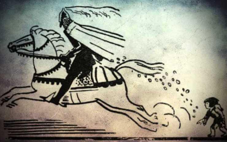 Τα φλουριά του Μαύρου Καβαλάρη - Χριστουγεννιάτικος θρύλος της Βουργουνδίας...