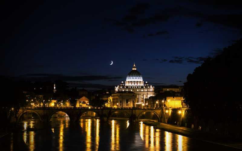 Το τριγωνικό Α.Τ.Ι.Α. πάνω από τη Ρώμη, το 1978...