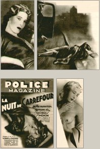 French pulp played a significant role in Film Noir's early development