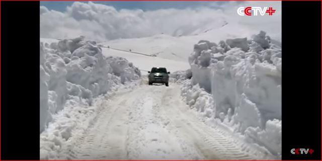 snowstorm china may 2016, giant snowstorm china may 2016, anomalous snow storm may 2016 video, 2 meters of snow fall in china, china 2 meters snow may 22 2016 video