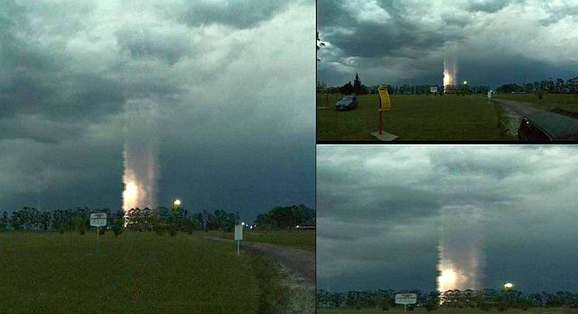 Mysterious light column appears in the sky of Argentina on October 26 2017, column of light argentina, unknown column of light argentina pictures