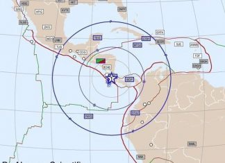 Strong M6.5 earthquake hits Costa Rica on November 13 2017, Strong M6.5 earthquake hits Costa Rica on November 13 2017 map, Strong M6.5 earthquake hits Costa Rica on November 13 2017 video