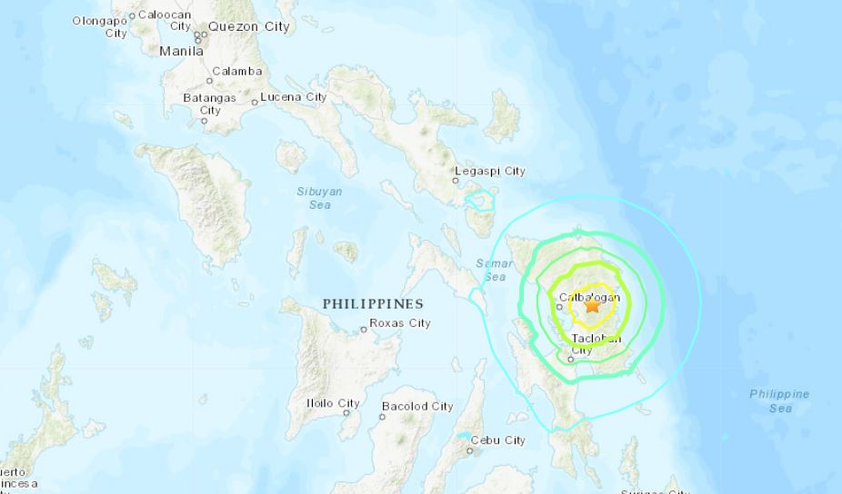 M6.4 earthquake philippines april 23 2019, M6.4 earthquake philippines april 23 2019 map, M6.4 earthquake strikes the Philippines on April 23 2019, a few hours after deadly M6.1 earthquake on Easter Monday