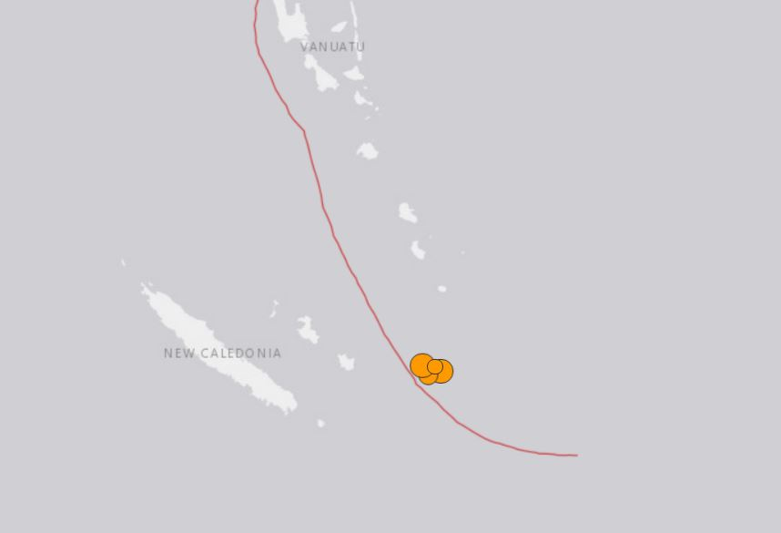 3 strong earthquakes hit New Caledonia may 19 2019, 3 strong earthquakes hit New Caledonia may 19 2019 map, 3 strong earthquakes hit New Caledonia may 19 2019 photo