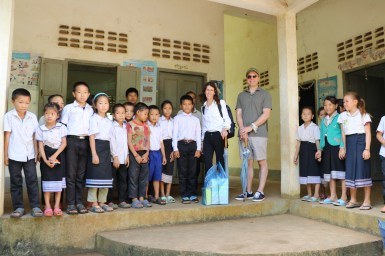 Laos School Visit
